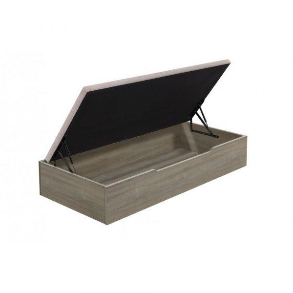 canape arcon abatible flex madera 25 apertura lateralgris