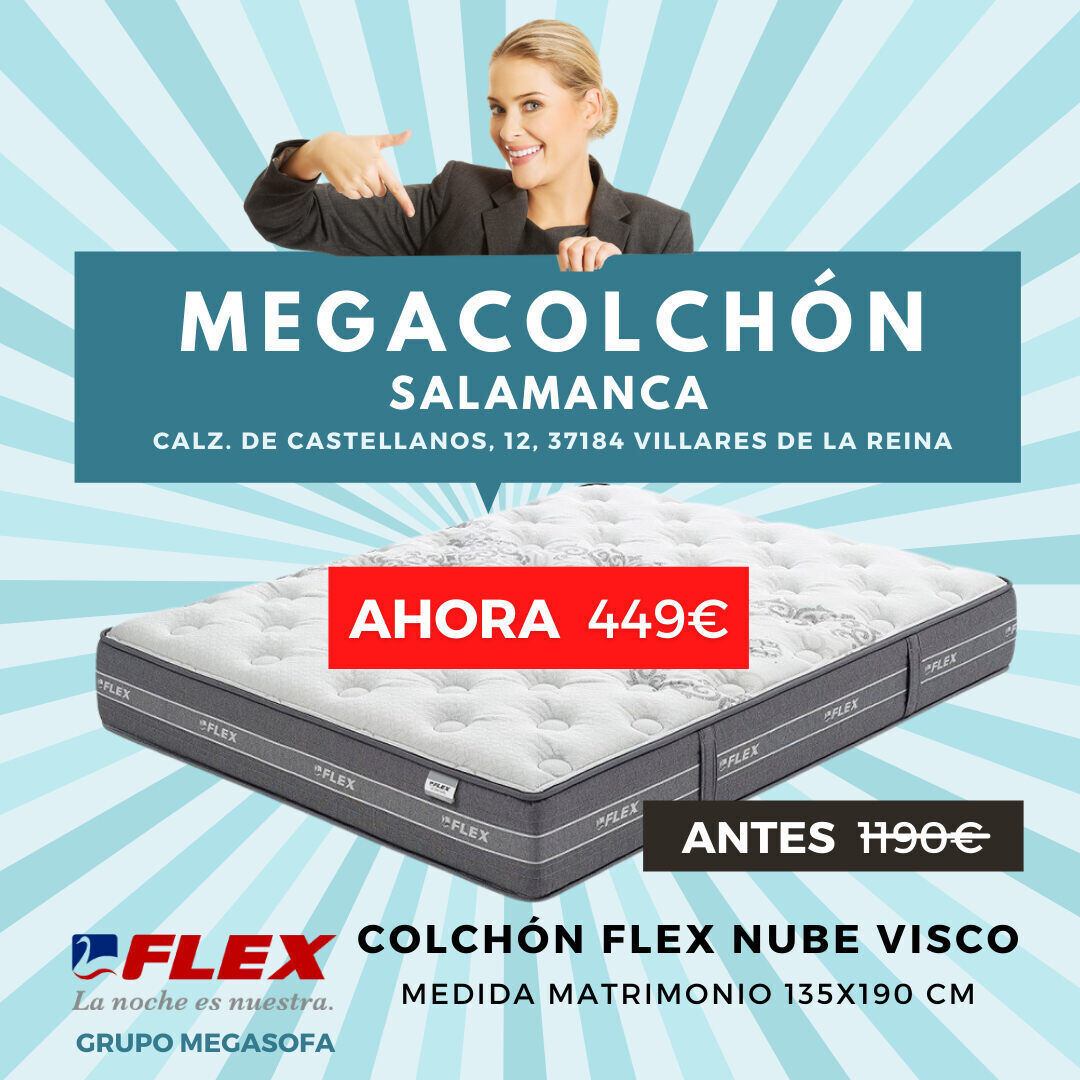 Oferta Colchon Flex Nube Megasofa Salamanca